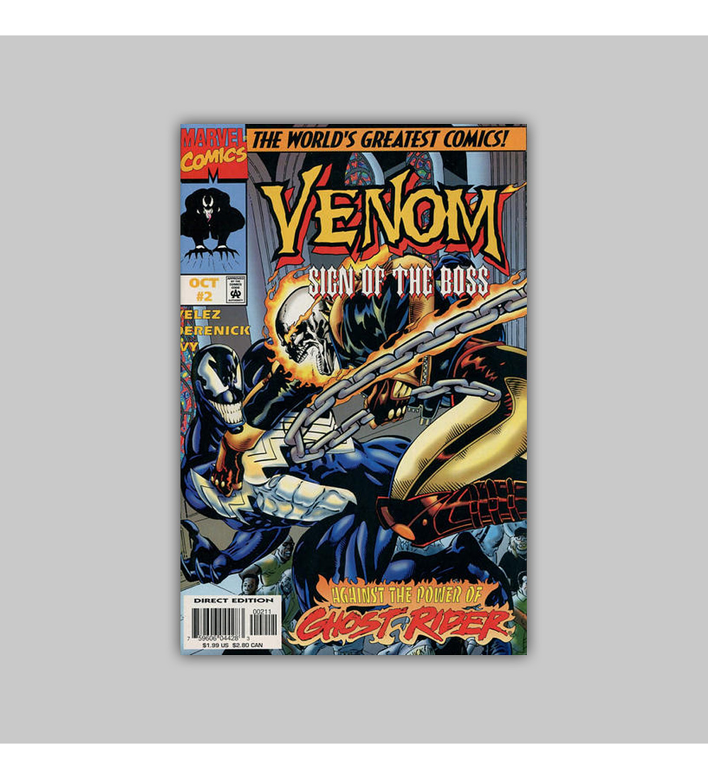 Venom: Sign of the Boss (complete limited series) 1997