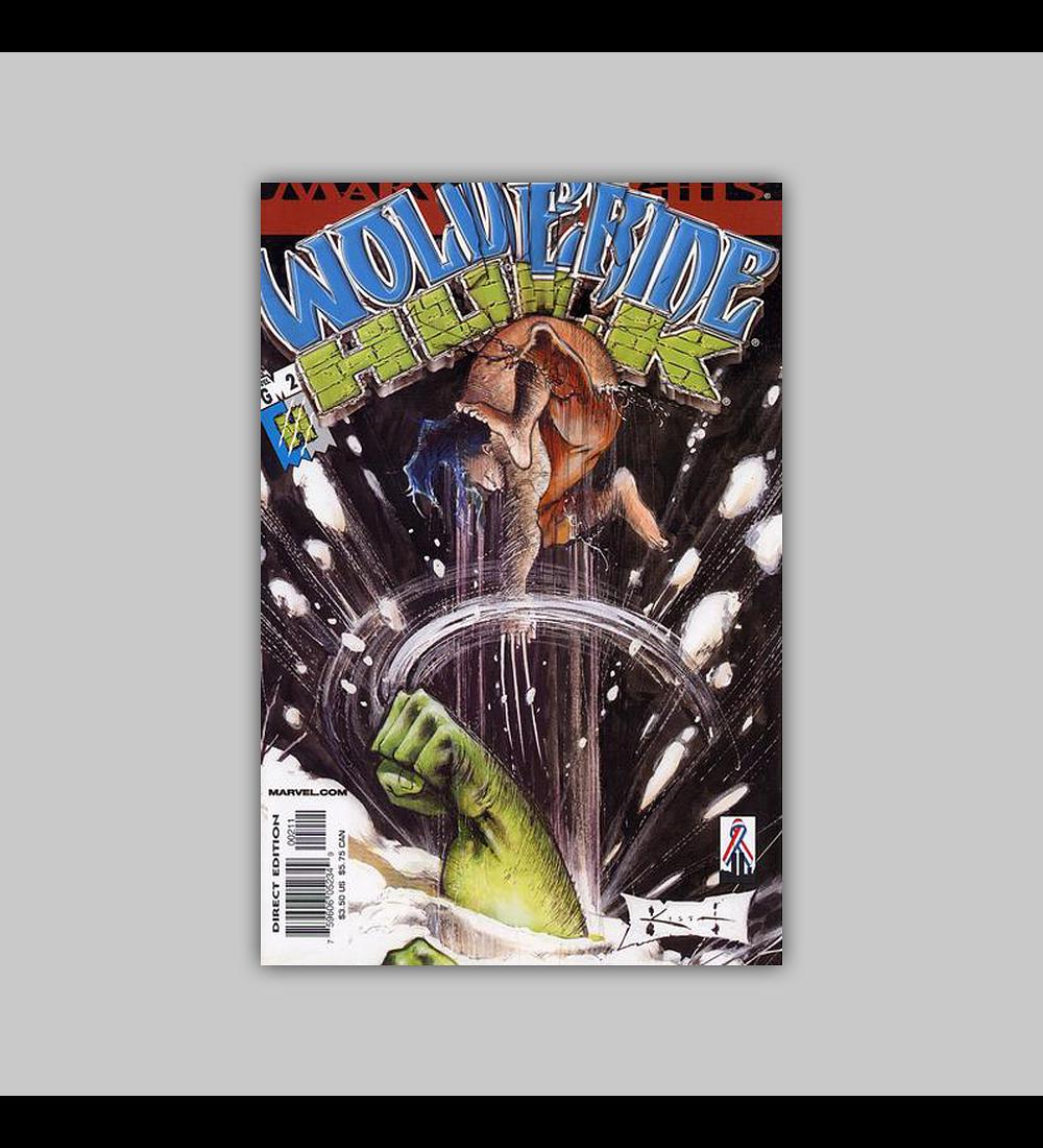 Wolverine/Hulk (complete limited series) 2002