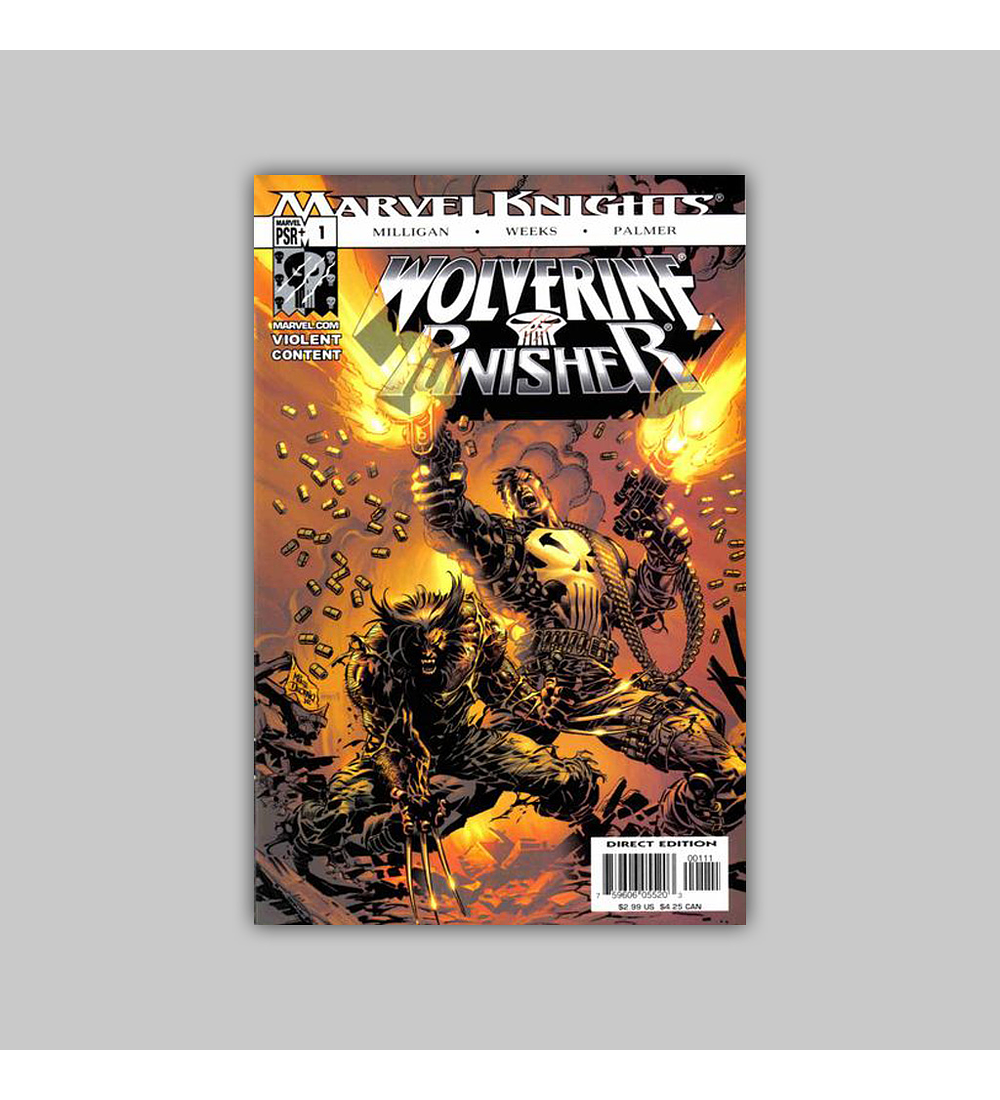 Wolverine/Punisher (complete limited series) 2004