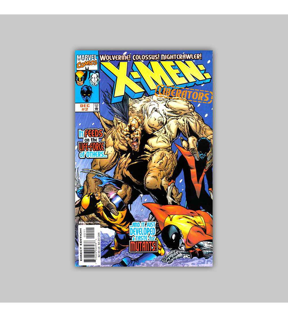 X-Men: Liberators (complete limited series) 1998