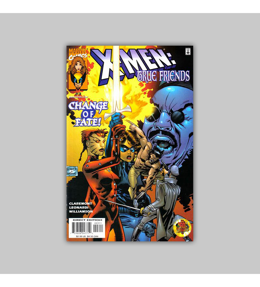 X-Men: True Friends (complete limited series) 1999
