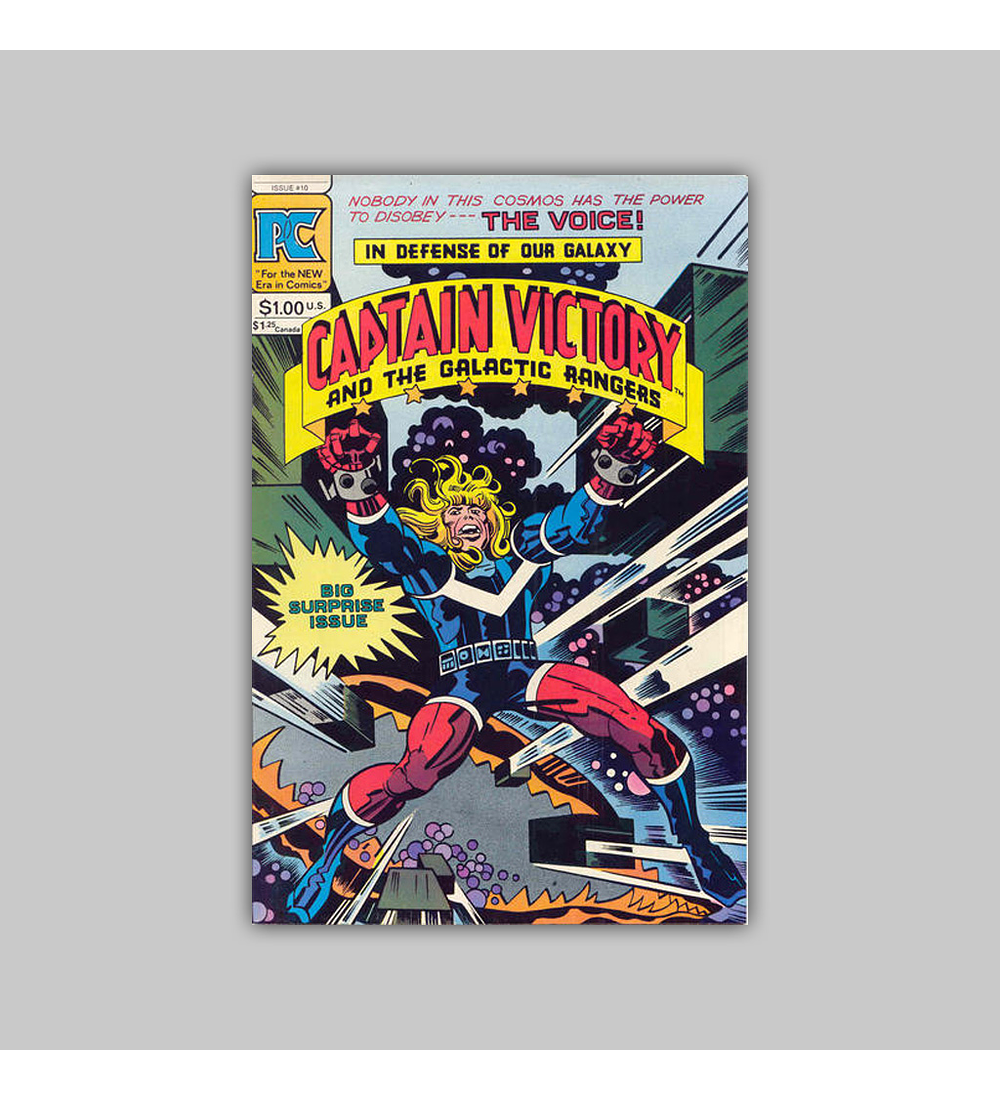 Captain Victory and the Galactic Rangers 10 VF (8.0) 1983