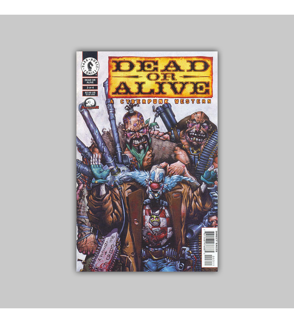Dead or Alive: A Cyberpunk Western (complete limited series) 1998