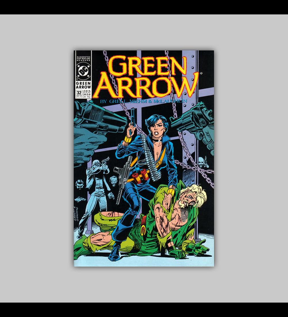 Green Arrow 32 1990