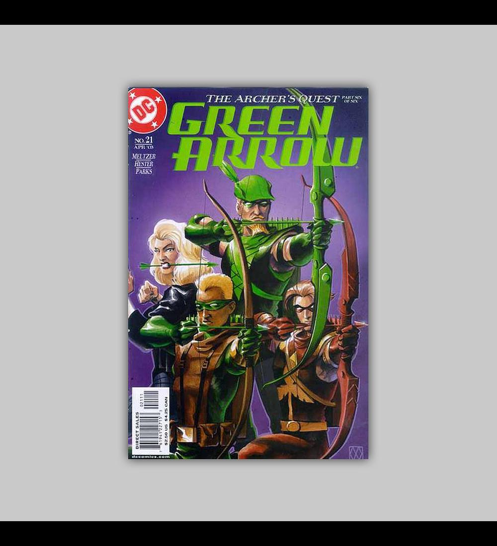 Green Arrow (Vol. 2) 21 2003