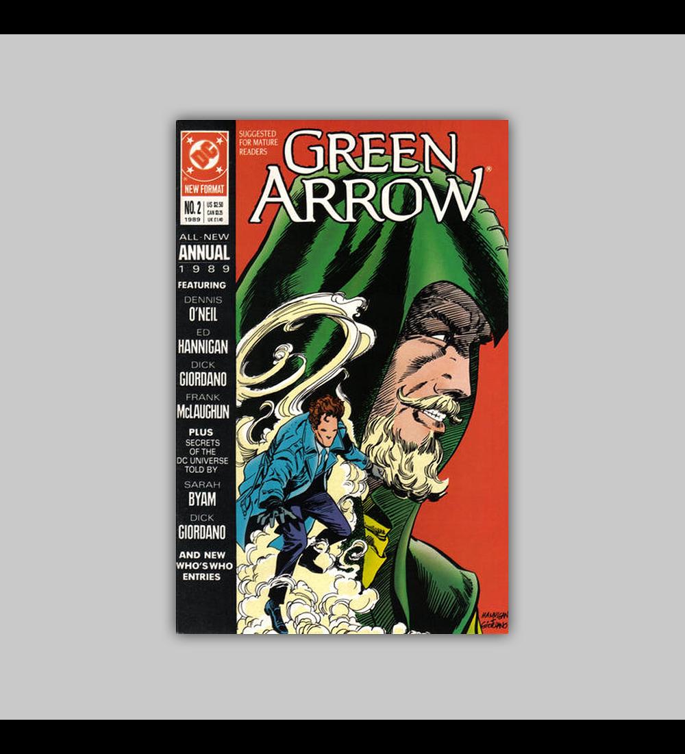 Green Arrow Annual 2 1989