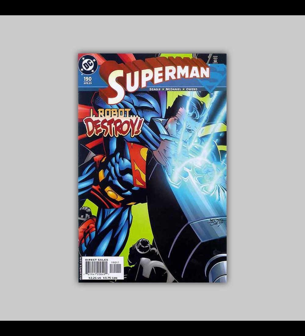Superman 190 2003