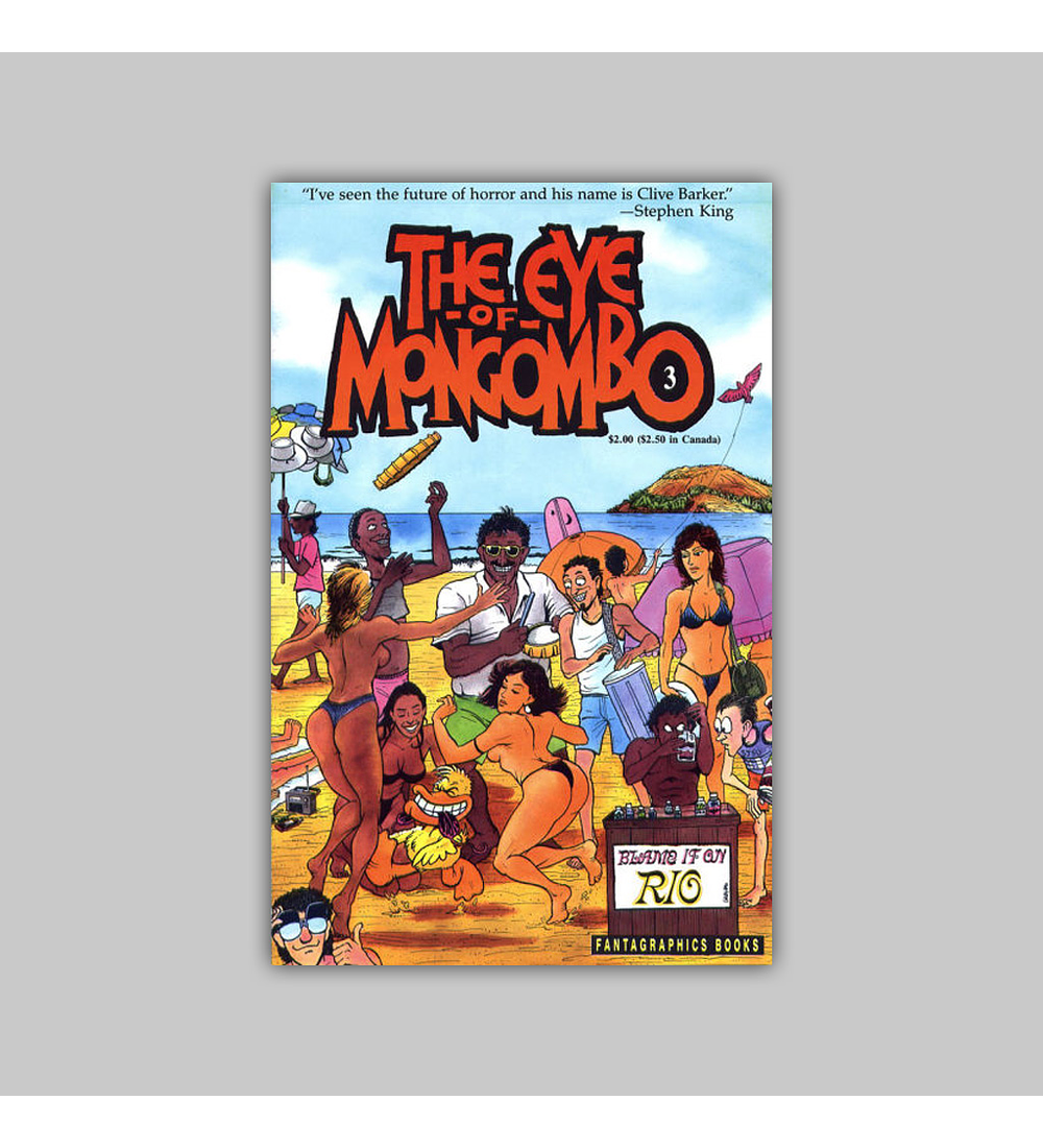 The Eye of Mongombo 3 1990