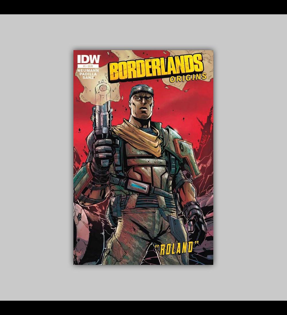 Borderlands: Origins 1 4th printing 2013