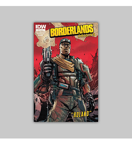 Borderlands: Origins 1 4th printing 2013