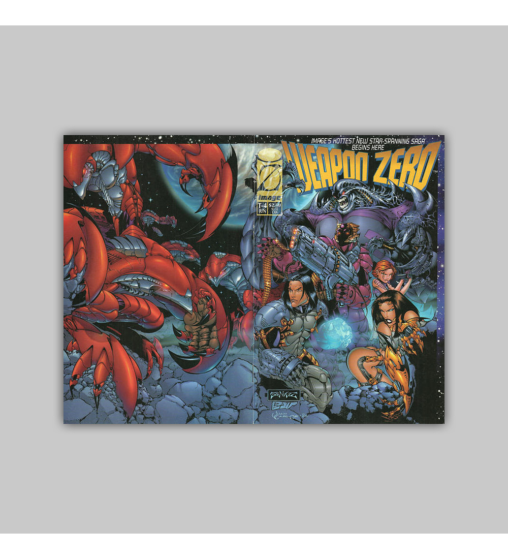 Weapon Zero (complete limited series) 1995