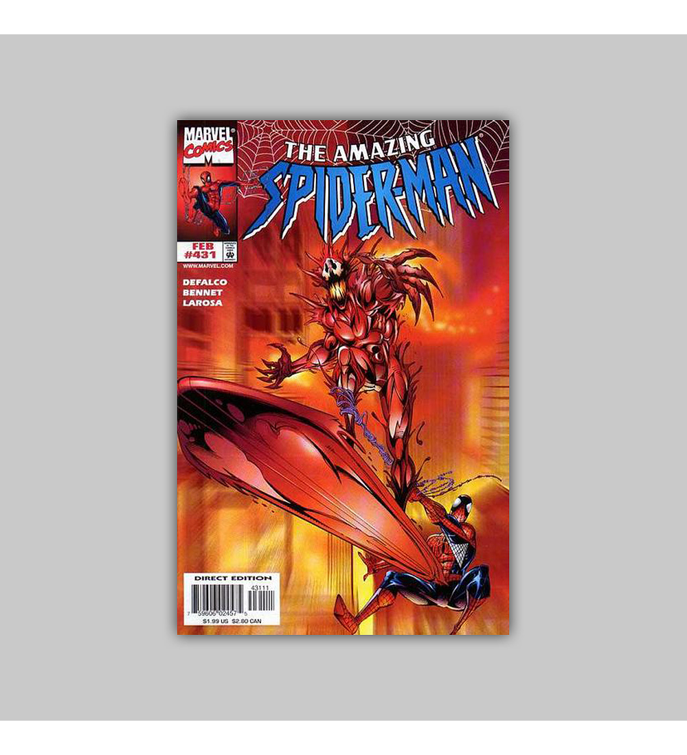 Amazing Spider-Man 431 VF/NM (9.0) 1998