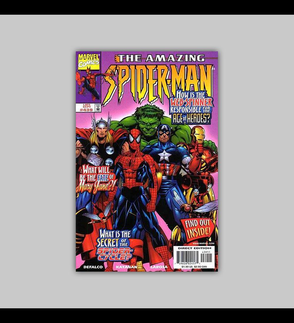 Amazing Spider-Man 439 1998