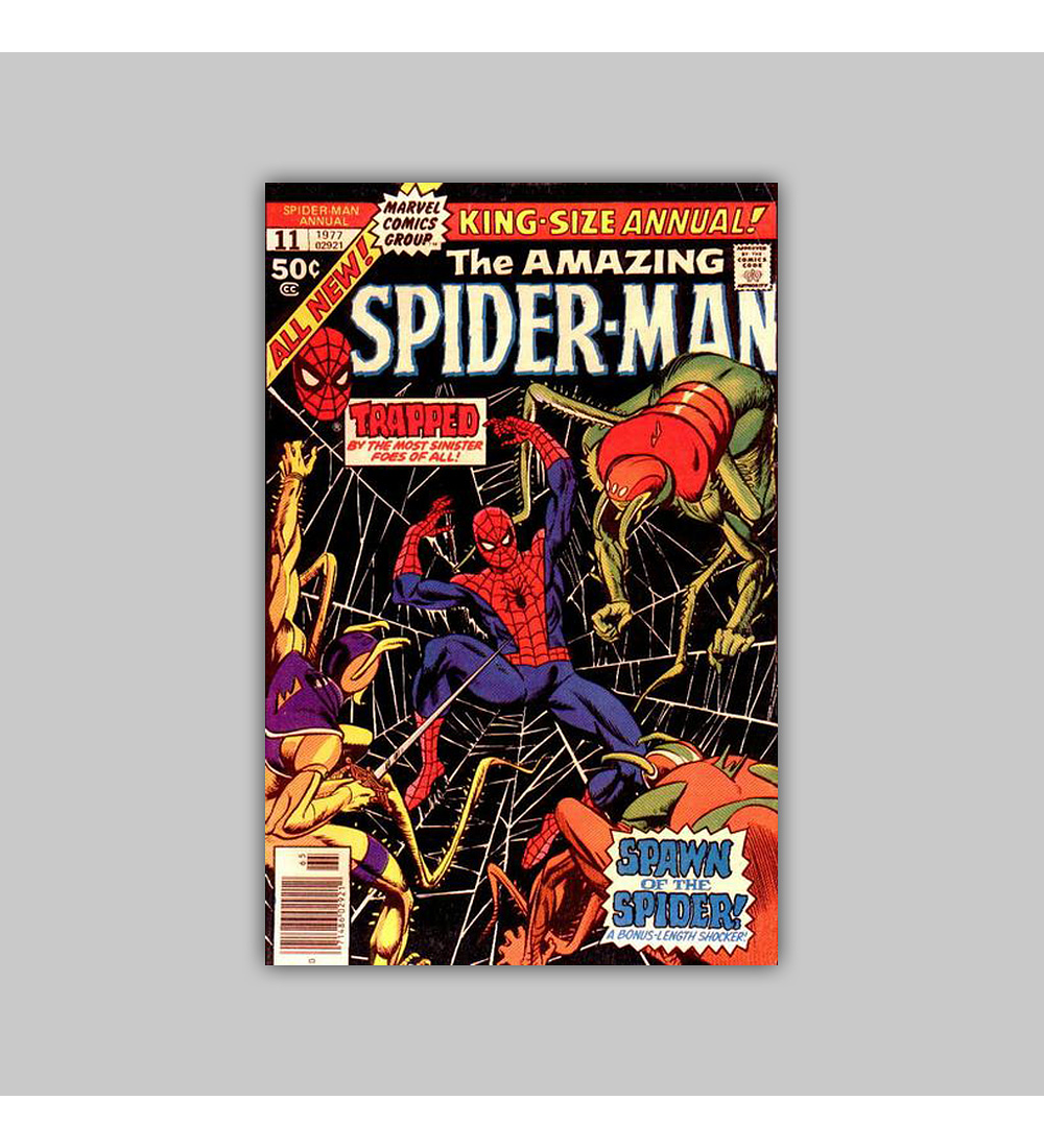 Amazing Spider-Man Annual 11 VF/NM (9.0) 1977