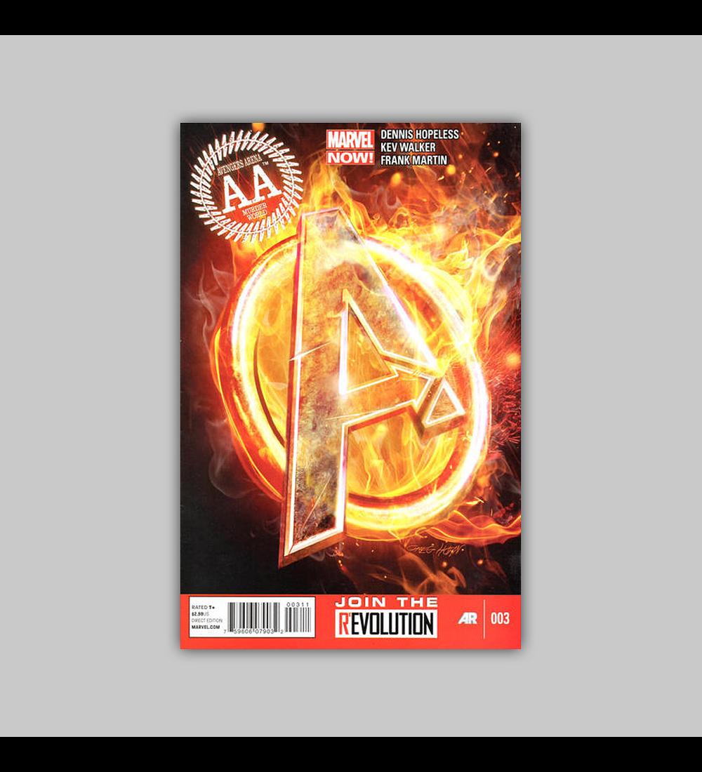 Avengers: Arena 3 2013