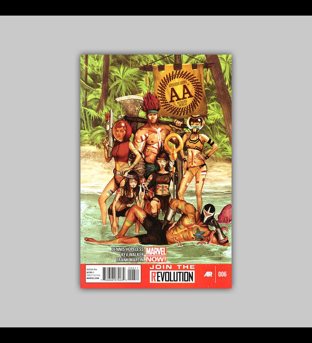 Avengers: Arena 6 2013