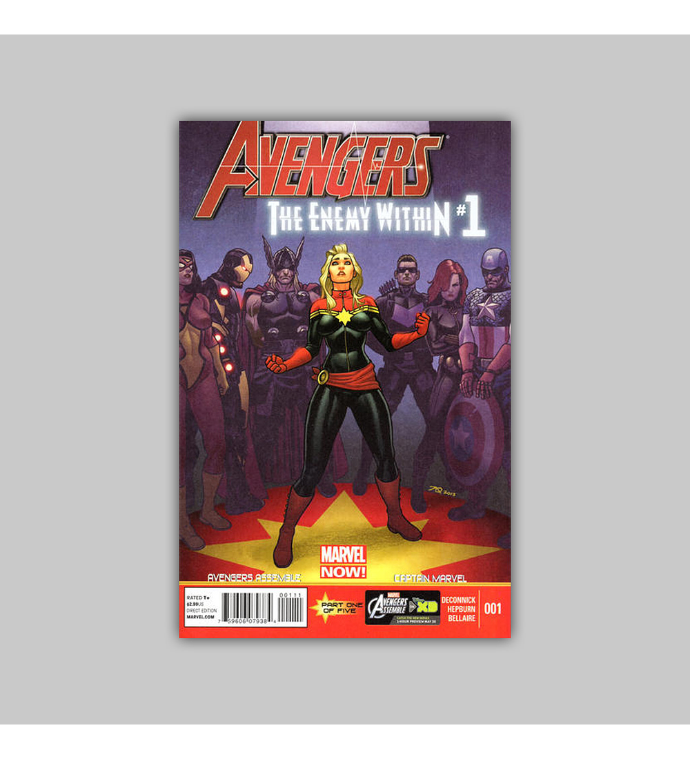 Avengers: The Enemy Within 1 2013