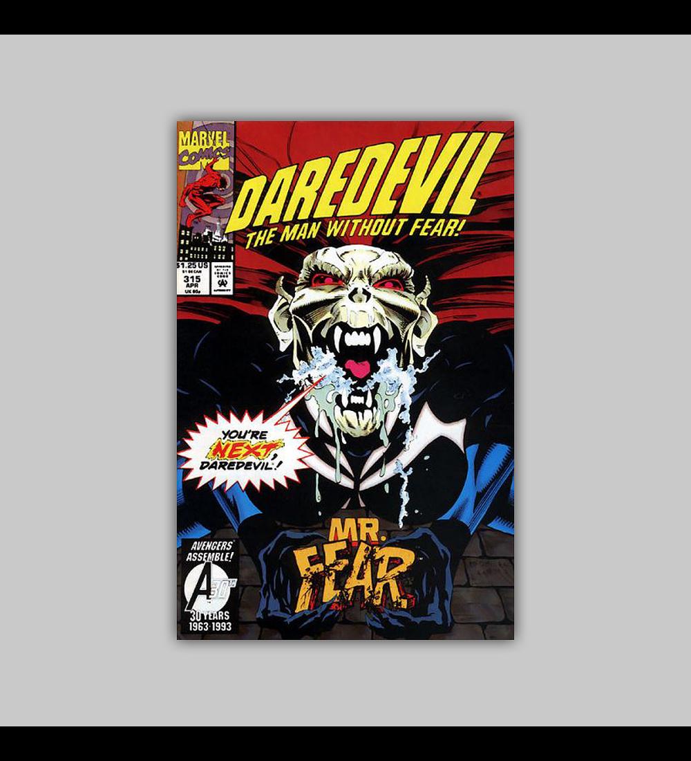 Daredevil 315 1993