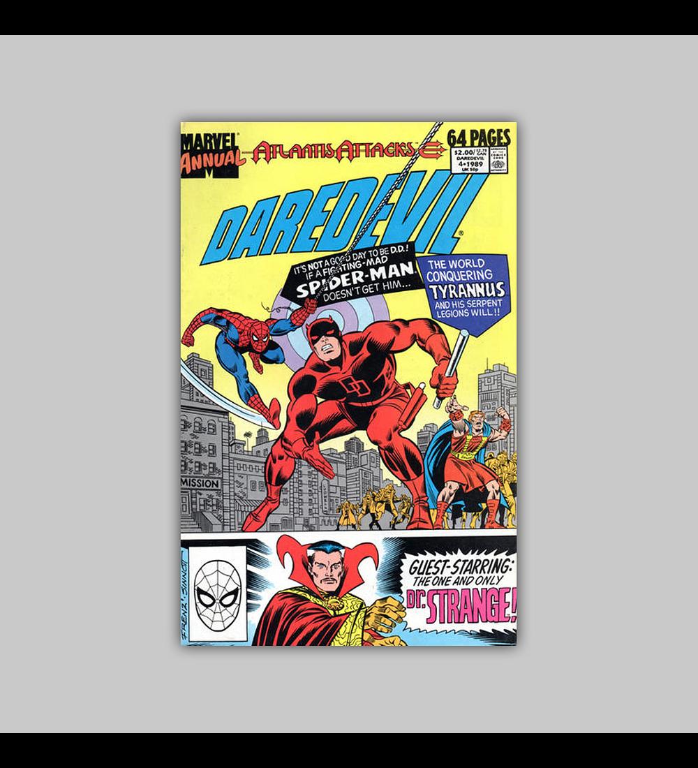 Daredevil Annual 4 1989