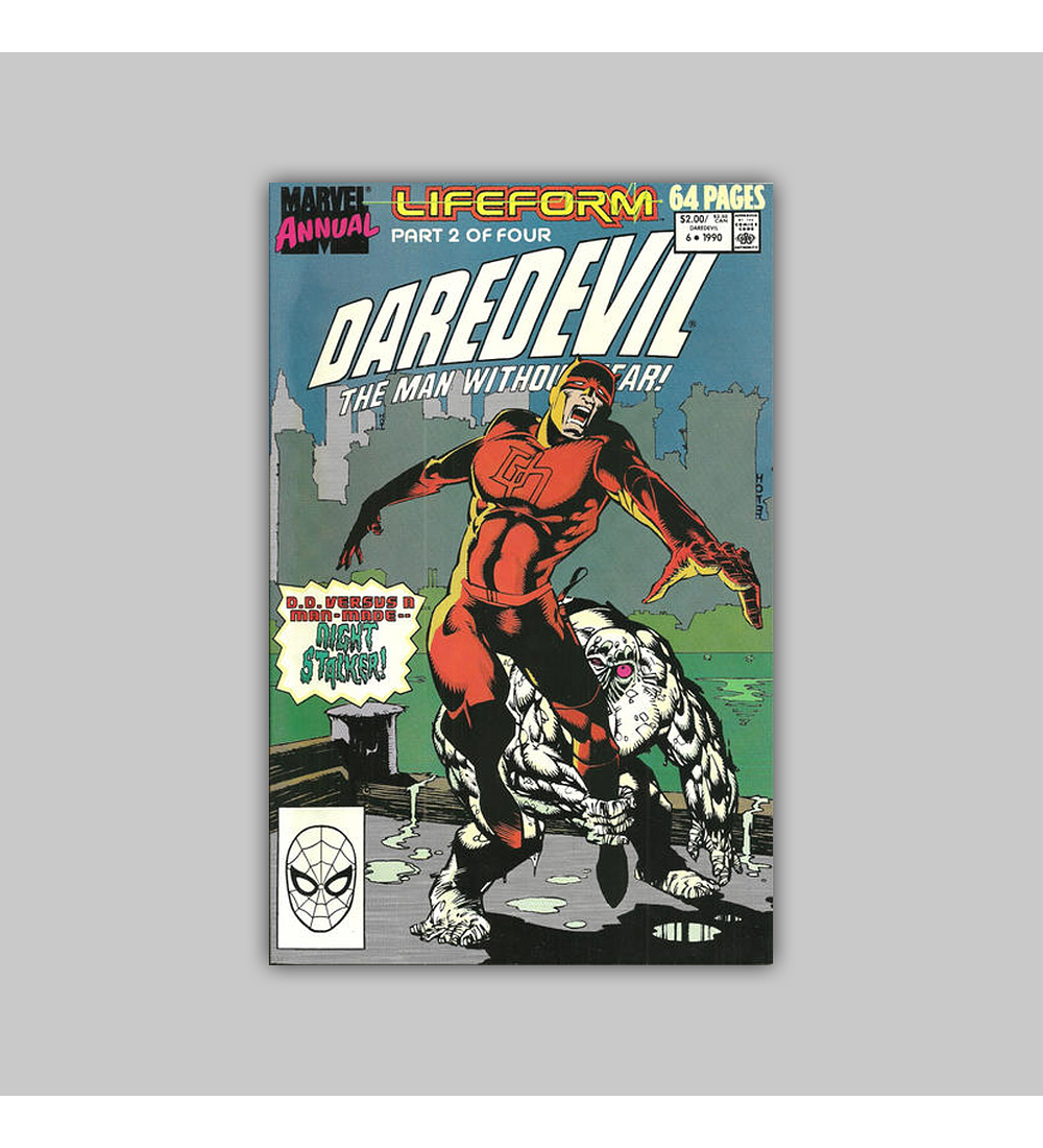 Daredevil Annual 6 1990