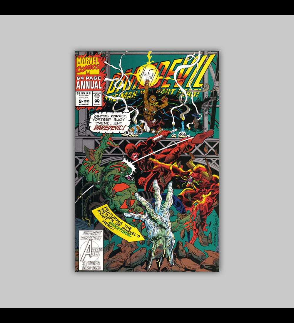 Daredevil Annual 9 Polybagged 1993