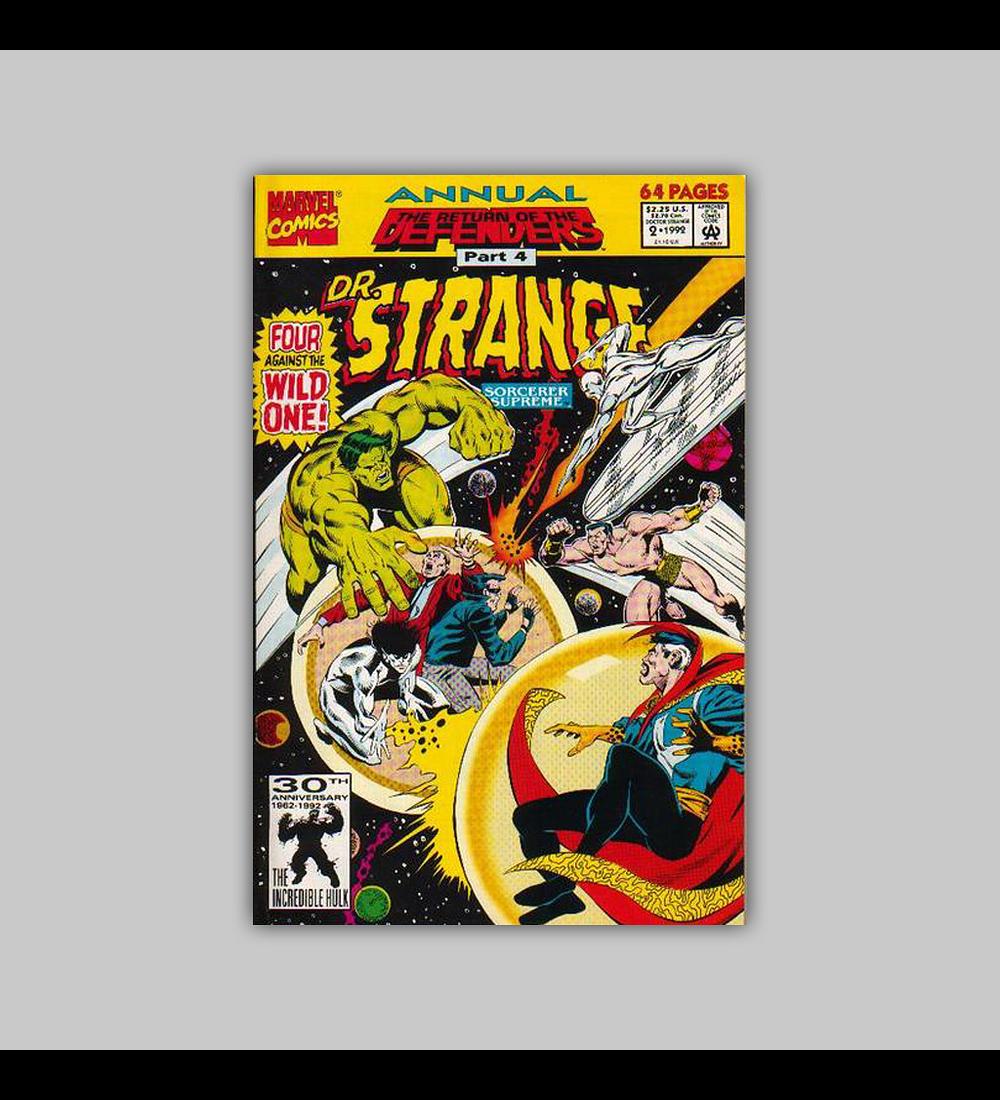 Dr. Strange, Sorcerer Supreme Annual 2 1992