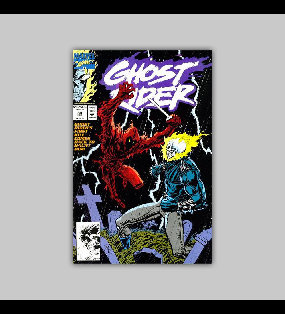 Ghost Rider (Vol. 2) 34 1993