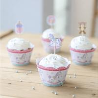Wraps para Cupcake Cositas de Bebé