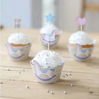 Wraps para Cupcake Rocking Horse