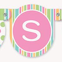 Banner Pastel baby Shower
