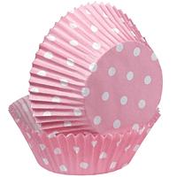 Cápsulas para Cupcake Rosada