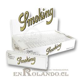 Papelillos Smoking White #9 - 1 1/4 - Display