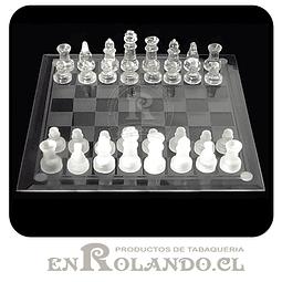 Tablero de Ajedrez Vidrio ($6.990 x Mayor)