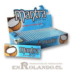 Papelillo Mantra sabor Coco 1 1/4 - Display