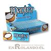 Papelillo Mantra sabor Coco 1 1/4 - Display