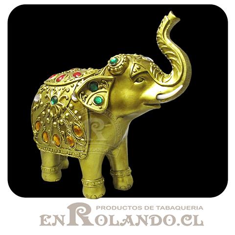 Elefante Dorado Decorado con Joyas ($14.990 x Mayor)