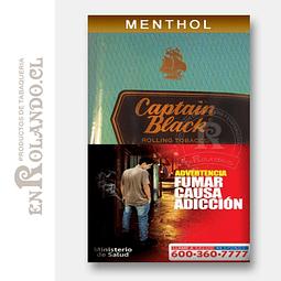 Tabaco Captain Black Menthol 50 Grm. ($8.290 x Mayor)