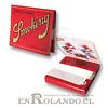 Papelillos Smoking de Arroz Red 1 1/4 - Display