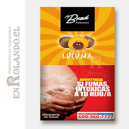 Tabaco Mr Brad Lúcuma 20gr ($1.890 x Mayor)