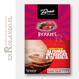 Tabaco Mr Brad Berries 20gr ($1.890 x Mayor)