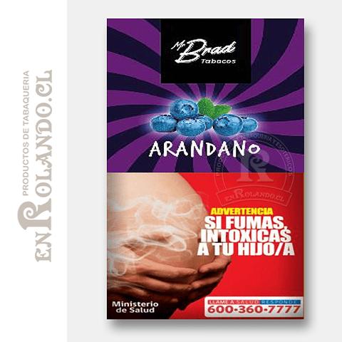 Tabaco Mr Brad Arándano 20gr ($1.890 x Mayor)