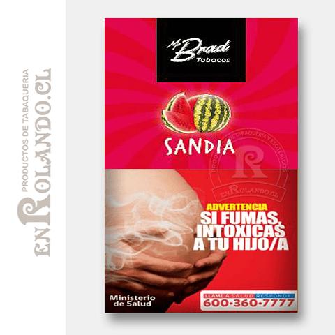 Tabaco Mr Brad Sandía 20gr ($1.890 x Mayor)