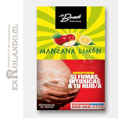 Tabaco Mr Brad Manzana Limón 20gr ($1.890 x Mayor)