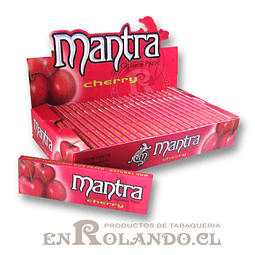Papelillo Mantra sabor Guinda 1 1/4 - Display