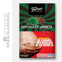 Tabaco Mr Brad Chocolate Menta 20gr ($1.890 x Mayor)