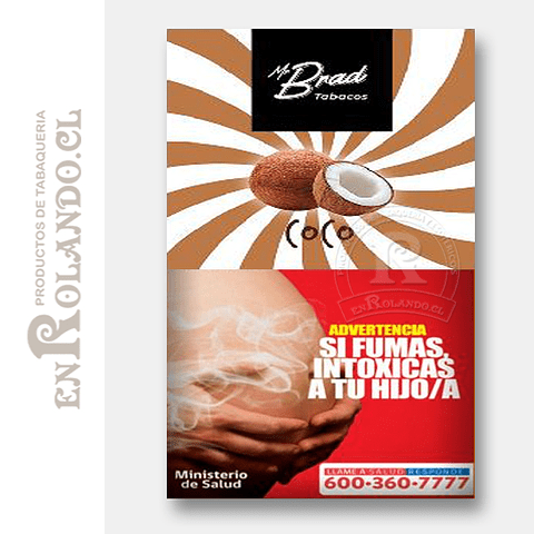 Tabaco Mr Brad Coco 20gr ($1.890 x Mayor)