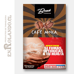 Tabaco Mr Brad Café Moka 20gr ($1.890 x Mayor)
