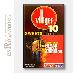 Cigarros Villiger 10 Sweets ($5.490 x Mayor)