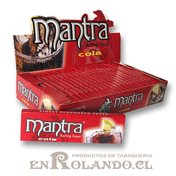 Papelillo Mantra sabor Cola 1 1/4 - Display
