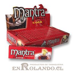 Papelillo Mantra sabor Cola 1 1/4 - Display